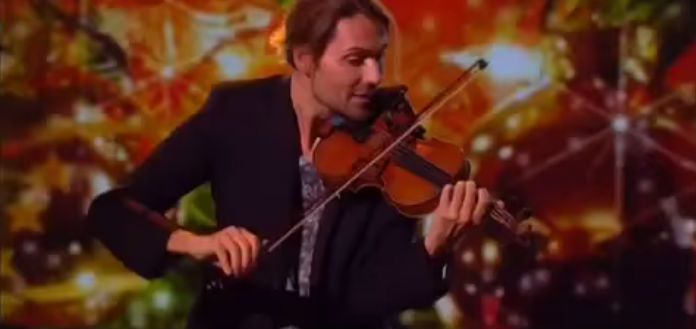 NEW TO YOUTUBE | Violinist David Garrett - 2016 New Year's