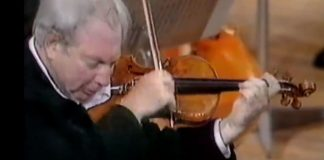 Isaac Stern - Beethoven Violin Concerto