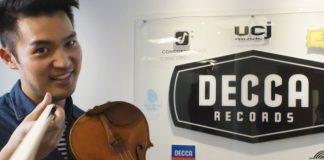 Ray Chen Decca Classics Recording Contract
