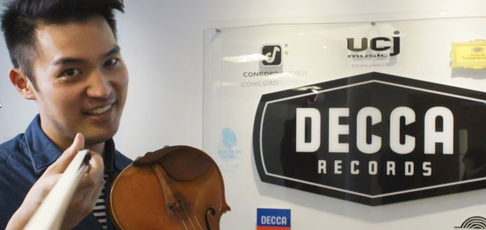 Ray Chen Decca Classics Recording Contract