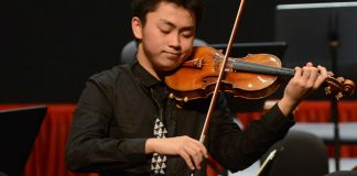 Ziye He Zhuhai Violin Competition