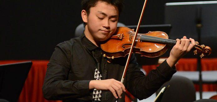 Ziye He Zhuhai Violin Competition