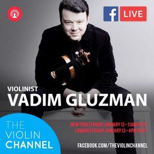 Vadim Gluzman VC Livestream
