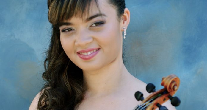 Annelie Gregory Violinist Cover