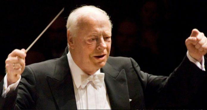 Bernard Haitink Conductor Cover