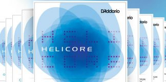 DAddario Helicore Violin Strings Cover