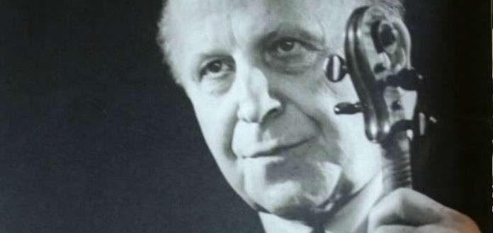 Louis Persinger Violinist Cover