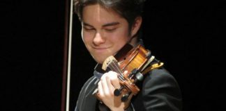 Luca Ljubas Violin Violinist Cover