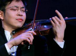 Paul Huang Violin Violinist Cover
