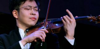Paul Huang Violin Violinist Cover
