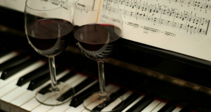 Piano Wine Cover