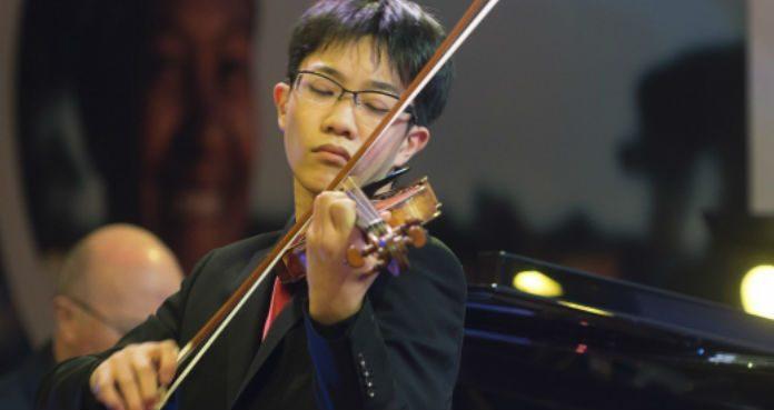 Rennosuke Fukuda Violin Violinist Cover