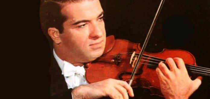 Ruggiero Ricci Violinist Violin Cover