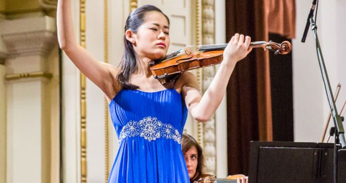 Yurina Arai Heifetz Competition Violinist