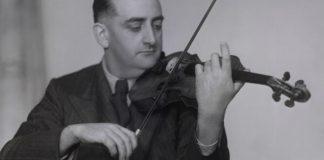 Alfredo Campoli Violin Violinist Cover