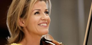 Anne Sophie Mutter Violinist Cover
