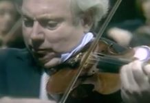 Isaac Stern Mozart G Major Cover