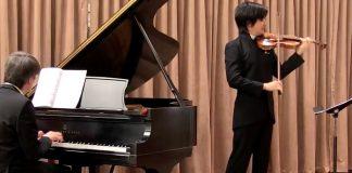 Tatsuki Narita Spring Sonata Beethoven Cover
