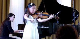 Leia Zhu Paganini Violin Concerto