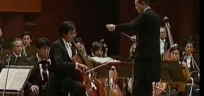 Yo Yo Ma Dvorak Cello Concerto Cover