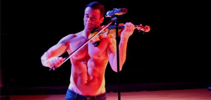 Shirtless Violinist I Dreamed a Dream