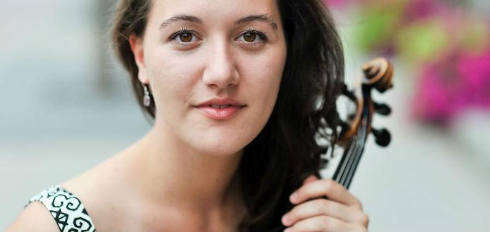 Yolanda Bruno Violinist Canada Cover