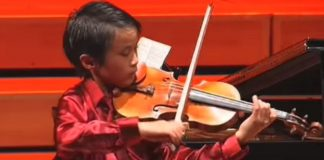 Kevin Zhu Menuhin Competition