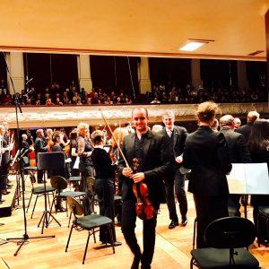 Ben Baker Michael Hill International Violin Competition