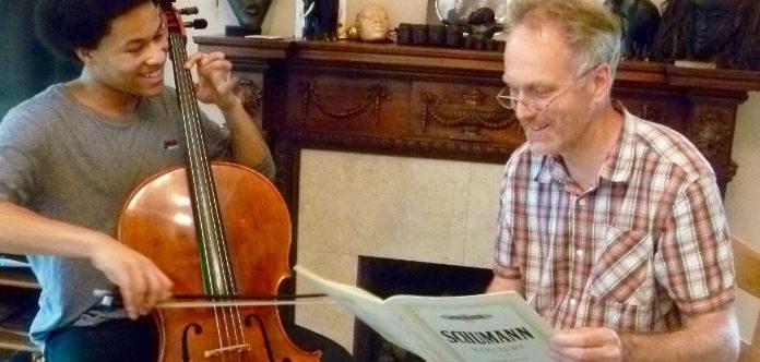 Ben Davies Sheku Kenneh-Mason Cello Teacher Cover