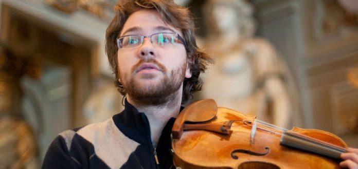 Alexander Sitkovetsky Violin Violinist Cover