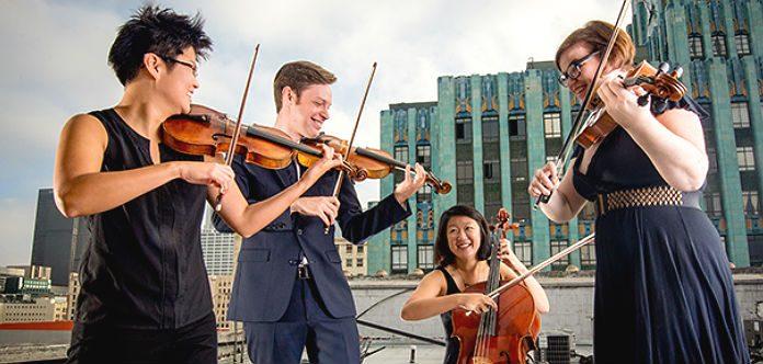 Argus Quartet Tarisio Grant Cover