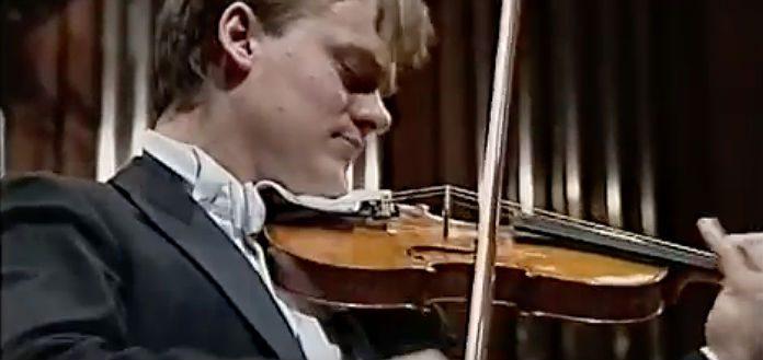Frank Peter Zimmermann Violin Cover