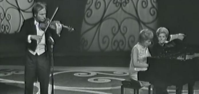 NEW TO YOUTUBE | Violinist Ivry Gitlis & Pianist Loredana
