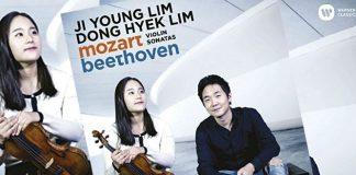 Ji Young Lim Mozart Beehoven Violin Sonata Cover