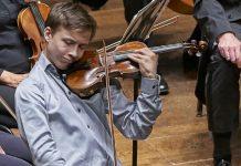 Johan Dalene Violin Violinist Cover 2