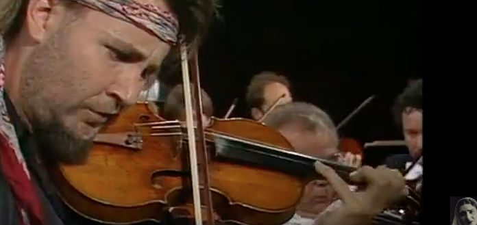 Nigel Kennedy Violin Violinist 1992 Cover