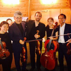 VC Backstage Zora String Quartet