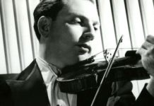 Isaac Stern 1950 Violinist Cover