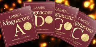 Larsen Magnacore Cello String Sets Cover