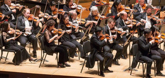 Philadelphia Orchestra Violinist Cover