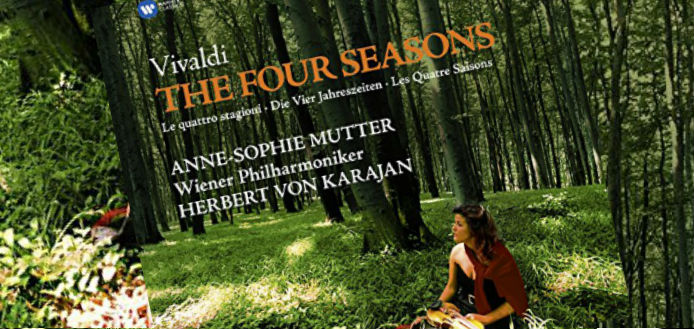 Anne-Sophie Mutter's 'Vivaldi: The Four Seasons' Album