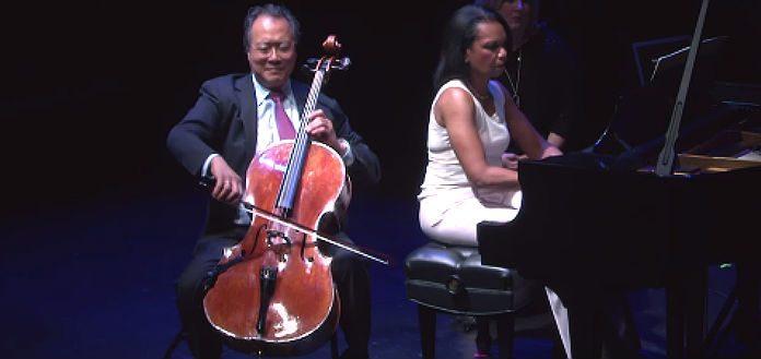 Yo-Yo Ma & Condoleezza Rice