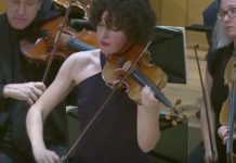 ARD Competition Violin Semi-Finalists Sarah Christian Cover