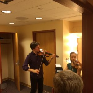 VC Backstage - VC Rising Star Yesong Sophie Lee & Joshua Bell