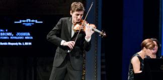 Joshua Brown Bartok World Competition Violin Cover
