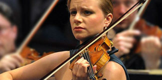 Julia Fischer Violin Violinist Cover
