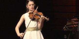 Mara Dueas Fernndez Violin Zhuhai Cover