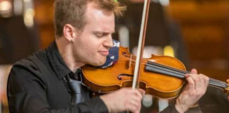 Marc Djokic Violin Violinist Cover