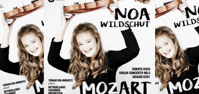 Noa Wildschut Mozart Album