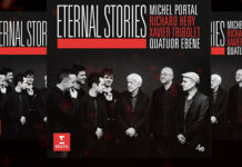 Quatuor Ebene Eternal Stories CD Cover
